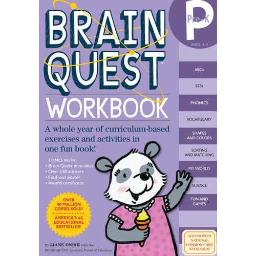 Workman Brain Quest Workook Pre-K