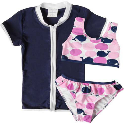 Snapper Rock Whale 3pc Set 12-24 months