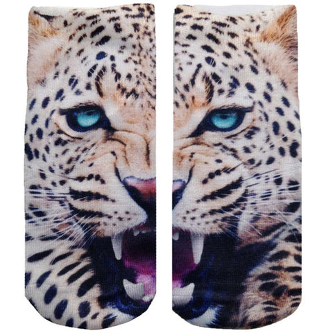 Living Royal Leopard Ankle Socks