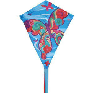 "Premier 25"" Fancy Flutter Diamond Kite"