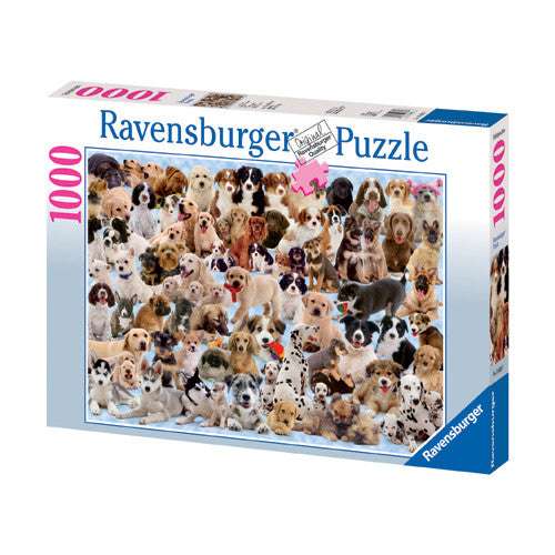 Ravensburger 1000pc Dogs Galore! Puzzle