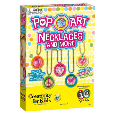 Creativity Pop-Art Necklace & More