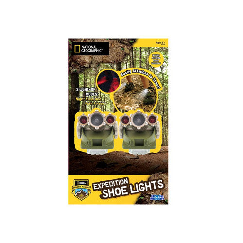 National Geo Expedition Shoe Lights