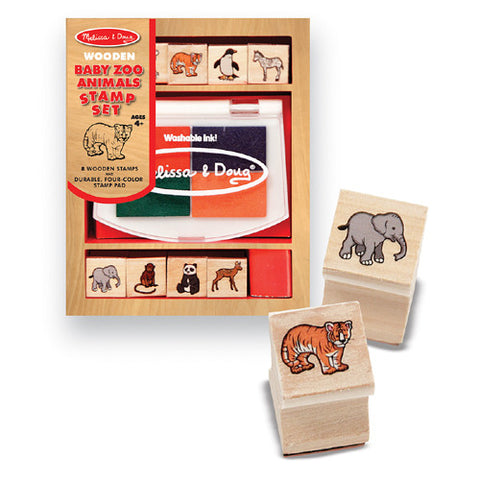 M&D Baby Zoo Animal Stamps