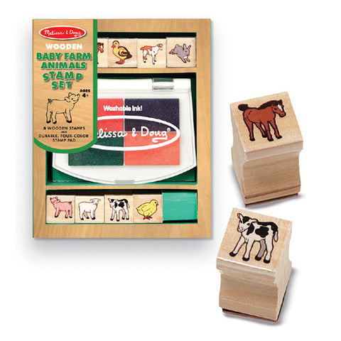 M&D Baby Farm Animals Stamp