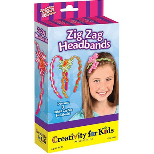 Creativity Zig Zag Headbands