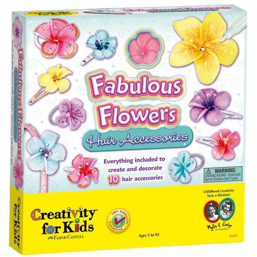 Creativity Fabulous Flowers Hair Accesso