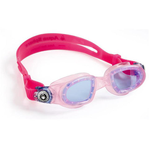 AquaSphere Moby Jr Swim Goggles Blue/Pink