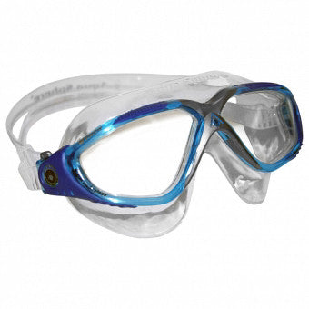 AquaSphere Vista Swim Goggle Clear/Aqua