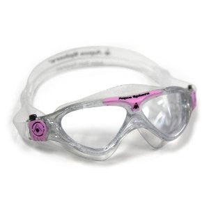 AquaSphere Vista Jr. Swim Goggle Clear/Pink