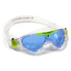AquaSphere Vista Jr. Swim Goggle Blue/Lime
