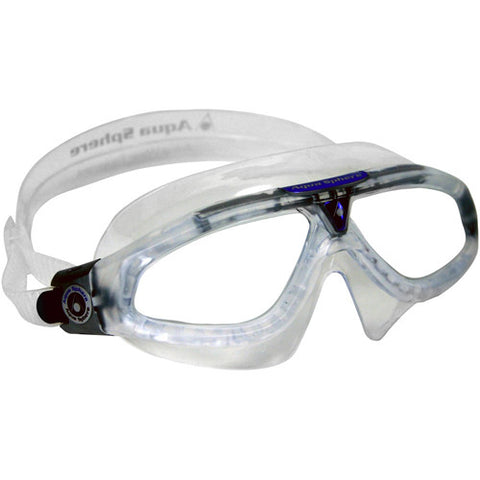 AquaSphere Seal XP Mask Swim Goggle Clear/Clear