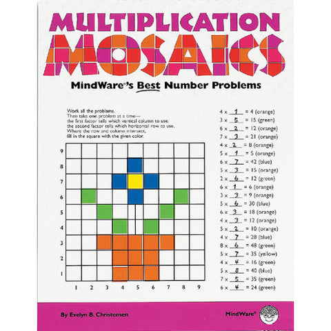 Mindware Math Mosaics Multiplication