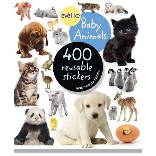 Workman Eyelike Stickers Baby Animals