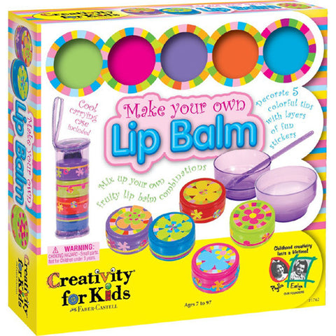 Creativity Make Your Own Lip Balm