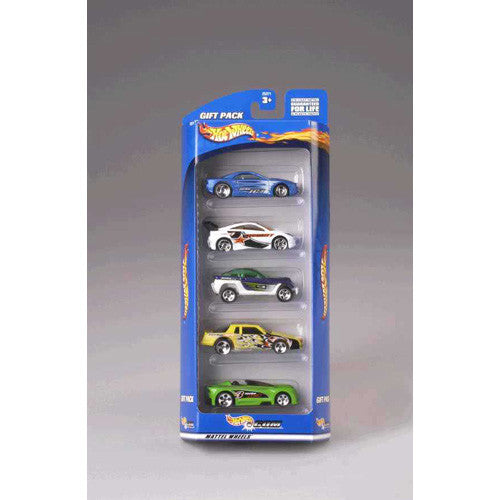 Hot Wheels 5pk Gift Set