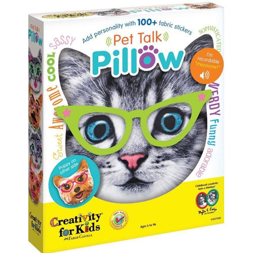 Creativity Pet Talk Pillow