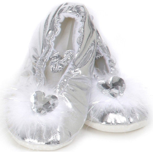 Creative Princess Slippers Silver Sm