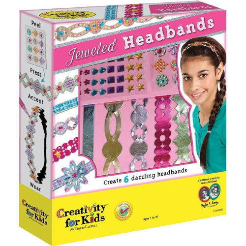 Creativity Jeweled Headbands