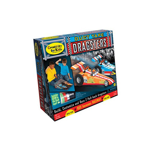 Creativity Duct Tape Dragster
