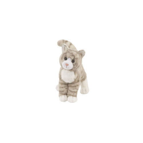 Douglas Zipper Grey Tabby Standing Cat