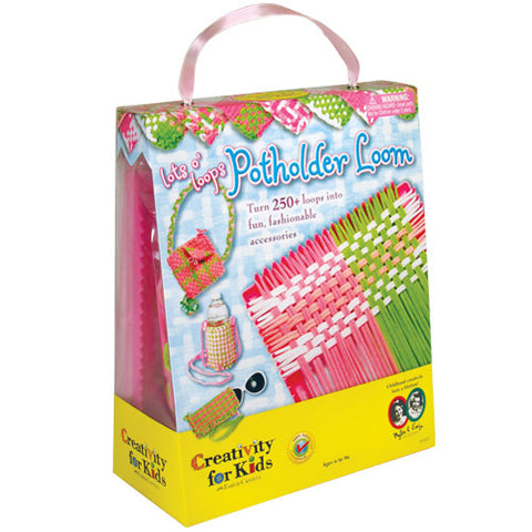 Creativity Lots O Loops Potholder Loom
