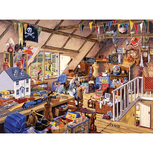 Ravensburger 1000pc Grandma's Attic Puzz