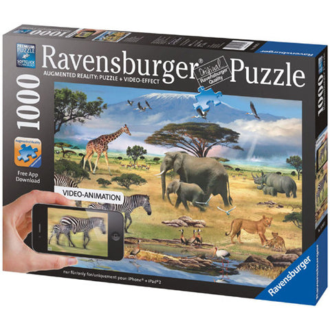 Ravensburger 1000pc Animals of Africa