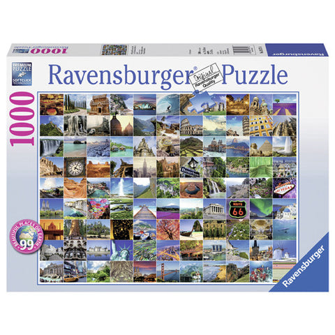 Ravensburger 1000pc 99 Beautiful Places