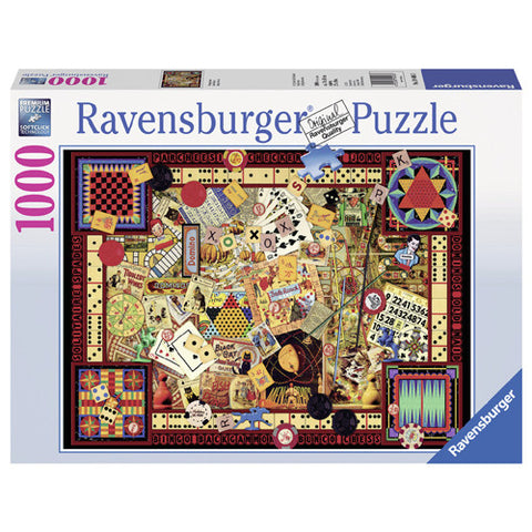 Ravensburger 1000pc Vintage Games