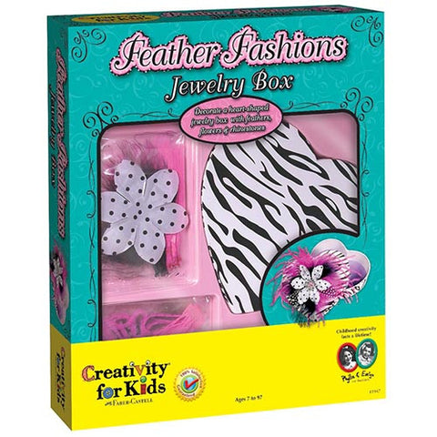 Creativity Feather Fashion Jewelry Box