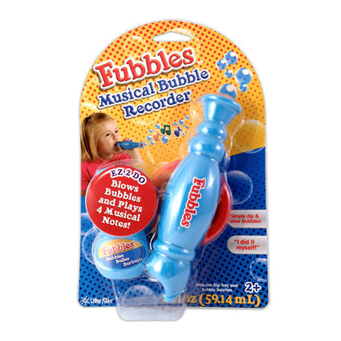 Fubbles EZ 1st Bubble Recorder