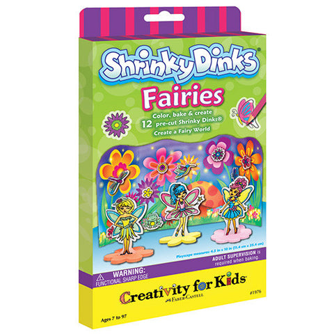 Creativity Faries Shrinky Dinks