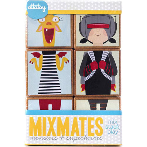 Mixmates Monsters & Superheroes