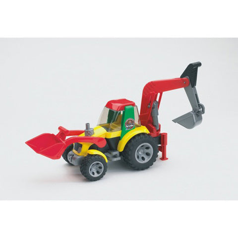Bruder Roadmax Small Loader/Backhoe