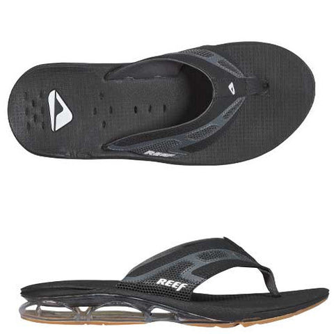Reef Mens X-S-1 Sandal Black 11.0