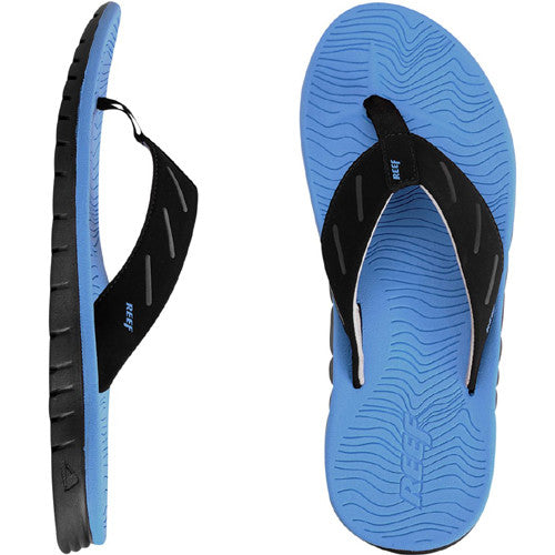 Reef Men Rodeoflip Black Blue Candy 7.0