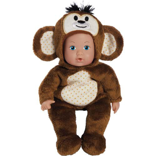 Adora Bean Bag Zoo Monkey Baby