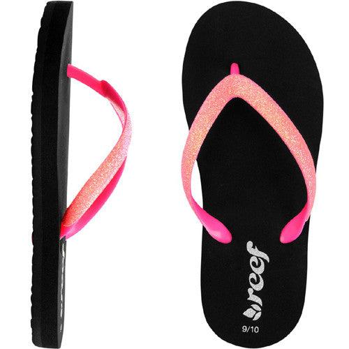 Reef Kids Little Stargazer Sandal Neon Pink 2/3 Kids Size