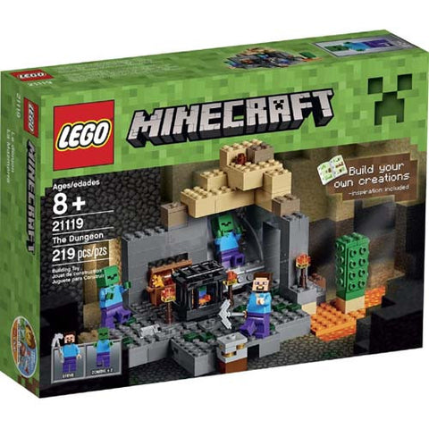 Lego Minecraft The Dungeon