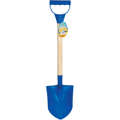 Toysmith Wooden Handle Beach Shovel