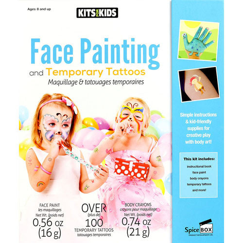 Spicebox Face Painting & Temp Tattoos