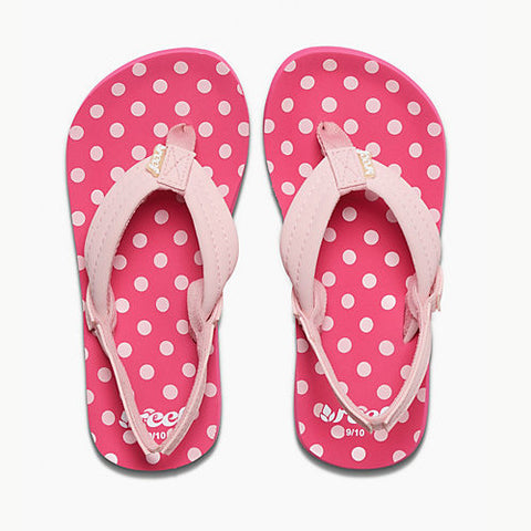 Reef Kids Lil Ahi Polka Dot 13/1 Kids Size