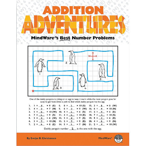 Mindware Math Mosaics Addition Adventure