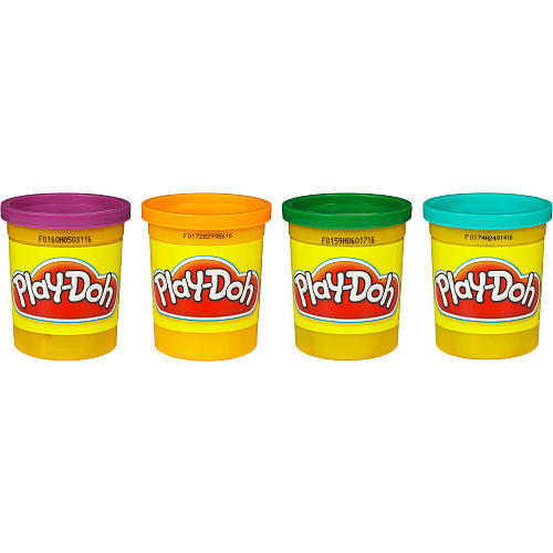 Play-Doh Secondary Colors 4 Pack