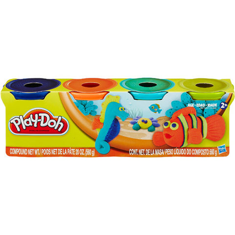 Play-Doh Neon Tropical Colors 4pk