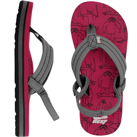 Reef Kids Ahi Sandal Monster Surf 4/5 Kids Size