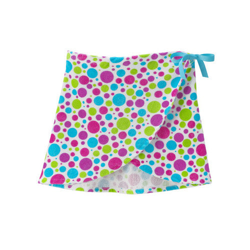 3Cheers Lots of Dots Terry Half Wrap Small/Medium 6-10