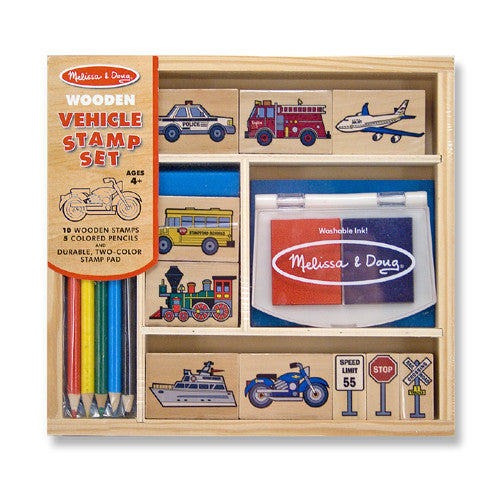 M&D Vehicle Stamp Set