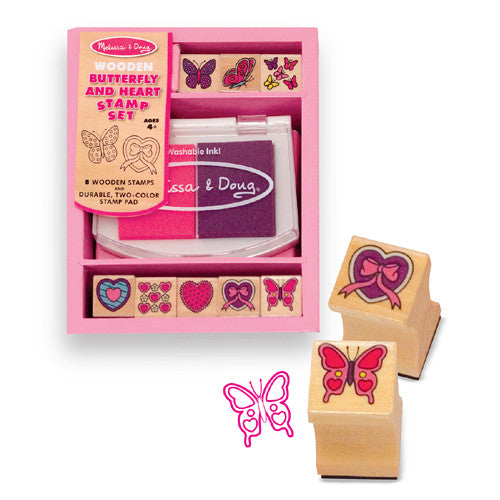 M&D Butterfly Stamp Set